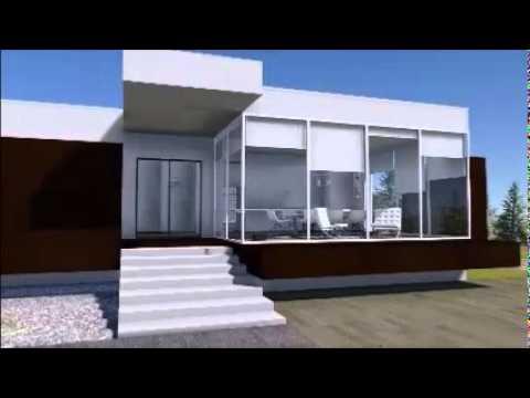 Casa in acciaio cold formed teel suprema youtube for Case acciaio