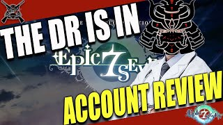[Epic7] Account Doctor - SteveG Account Review - Early Late Game