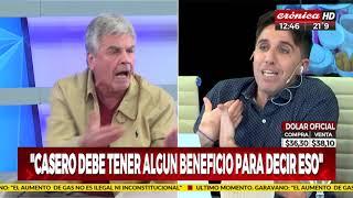 """Raúl Rizzo: """"Volvería a votar por Cristina"""""""