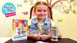0+  Калейдоскоп. Развивающие игрушки от Пикнмикс. Физика для малышей.  Игры для детей. Обзоры игр.