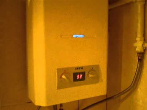 Отзывы о газовая колонка нева 4510м.