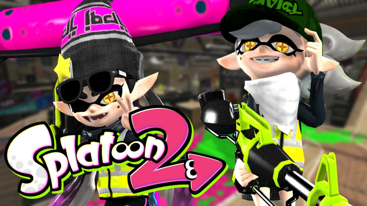 splatoon 2 callie marie playable characters youtube