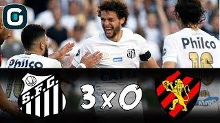 Baixar Santos 3 x 0 Sport | Peixe sai da zona de rebaixamento (20/08/18)