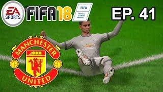 Juntando Pontos na Premier League! - FIFA 18 CARREIRA MANCHESTER UNITED - Ep. 41
