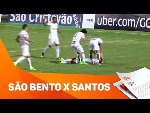 São bento x Santos - TV SOROCABA/SBT