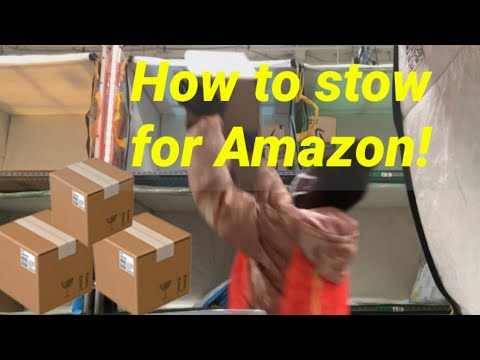 HOW TO STOW FOR AMAZON!