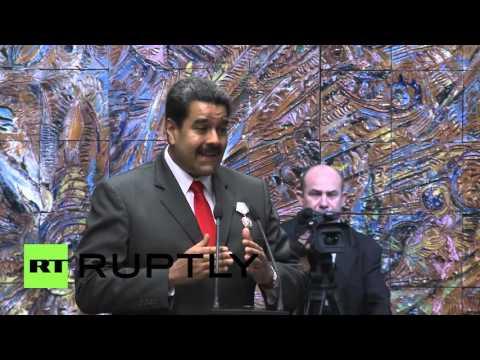 Cuba: Raul Castro awards Maduro 'Jose Marti Order' ahead of Obama visit