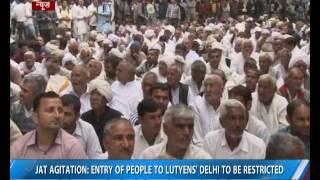 Jat agitation: Delhi metro services suspended from tonight