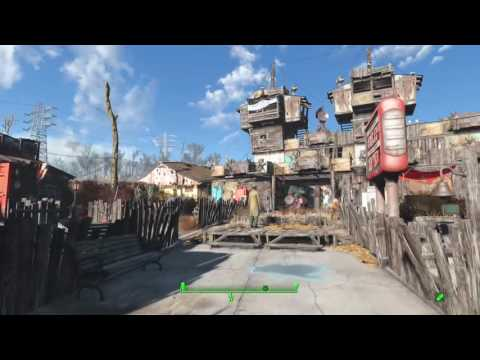 Fallout 4. City Of Paradise Settlement