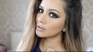 Drugstore Black Smokey Eye Tutorial | Kaushal Beauty(SHOP my positivity bracelets ☆ https://shop.bonvitastyle.com ☆ ♥ ♥ THUMBS UP for more videos ♥ ♥ ♥ Expand me for more goodness ☺   ♥ Find me on: ..., 2015-07-24T20:02:23.000Z)
