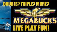 MEGABUCKS SLOT MACHINE-BIG WIN!-LIVE PLAY