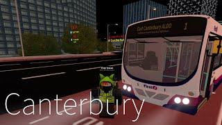Route 1 - East Canterbury Aldo - Canterbury and District- Roblox