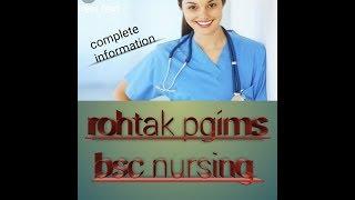 pgims rohtak bsc nursing entrance exam 2019 Mp4 HD Video WapWon