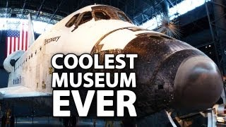 National Air & Space Museum Annex: The INCREDIBLE Udvar-Hazy Center -- DC Vlog (8 of 8)