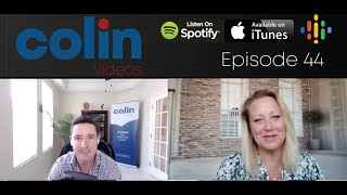 Colin Videos 44: Christina Walls on achieving financial freedom with land flipping.
