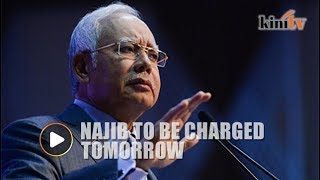 Najib arrested, to be charged tomorrow