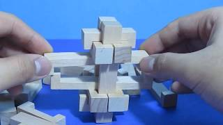 Big Wooden Burr Puzzle