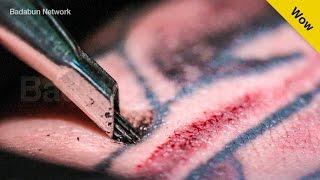 Mira en cámara lenta cómo se hace un tatuaje y por qué duele tanto thumbnail