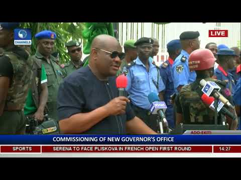 Commissioning Of Ekiti State High Court & Governor's Office Pt 3