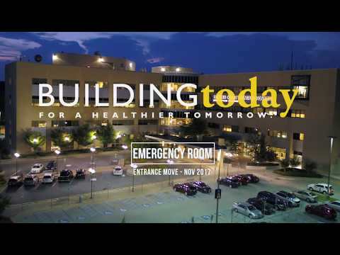 HCGH ER Entrance Move Nov 15  - Summer 2019