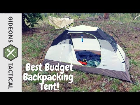 Best Budget Backpacking Tent: Kelty Salida 1