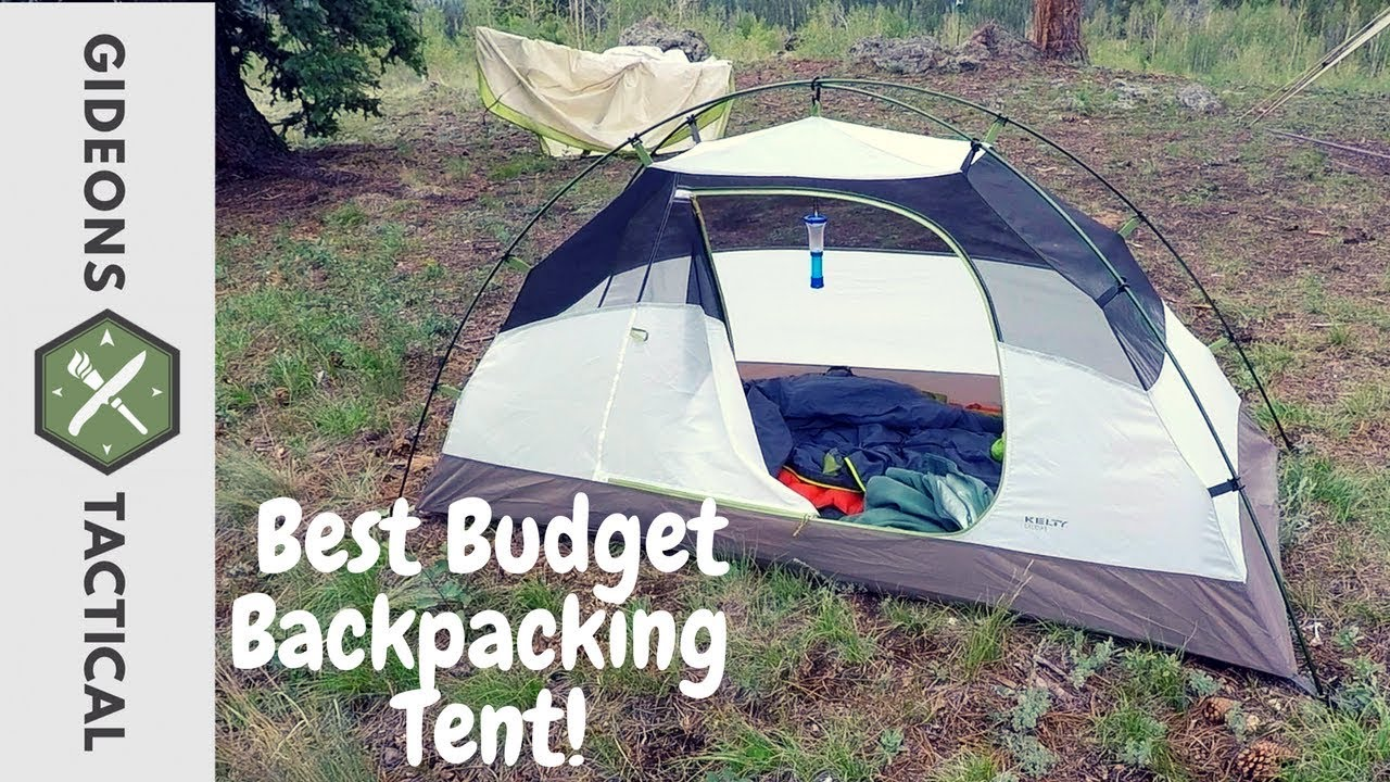 Best Budget Backpacking Tent Kelty Salida 1 & Best Budget Backpacking Tent: Kelty Salida 1 - YouTube