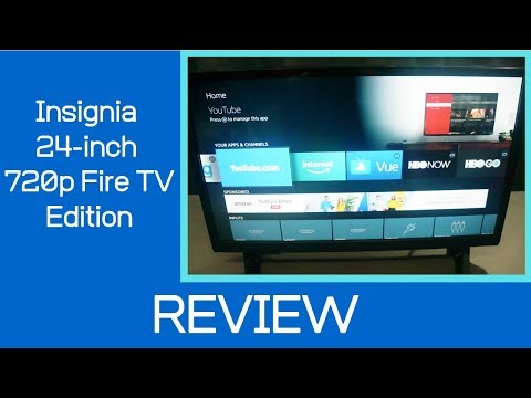 Fire TV | Insignia 24-inch 720P Smart TV (Fire TV Edition Review)