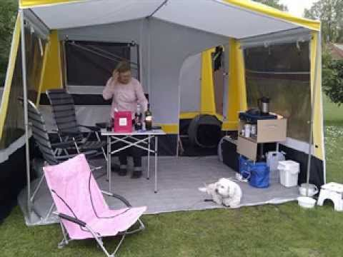 attach tent to the weekender & attach tent to the weekender - YouTube
