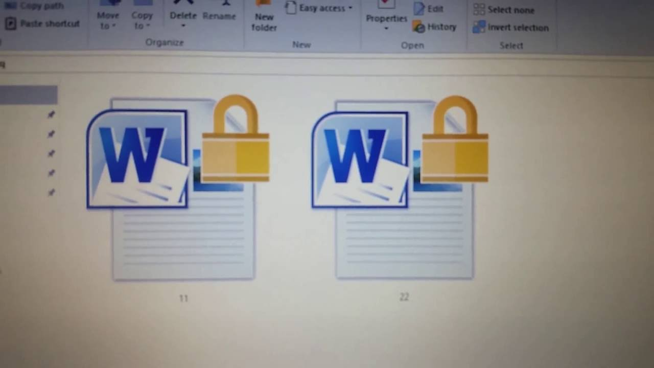 how to remove lock icon from folders and files in windows 10 quickly