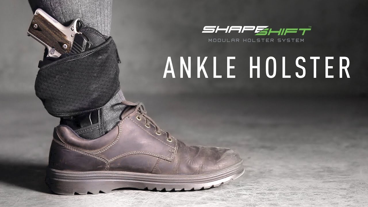 Most Comfortable Ankle Holster for Conceal Carry | Alien Gear Holsters