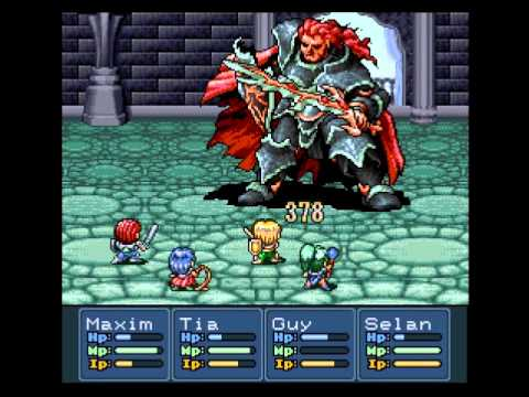 Lufia 2 Rise Of The Sinistrals - Boss 8 : Gades (1st Fight)