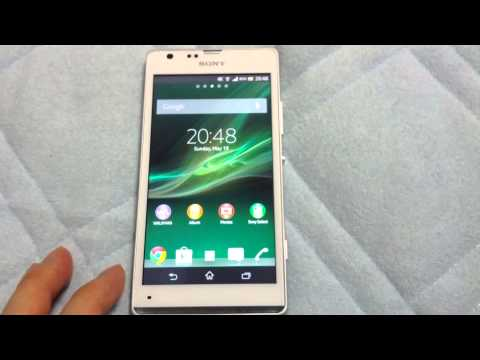 Sony Xperia SP LTE C5303 - Hands-on