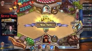Hearthstone BDP: Taunt Druid vs Quest Warrior (Season 50 Day 22)