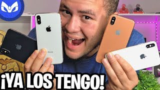 AQUI ESTAN LOS iPhone X Plus 2018 MODELO UNBOXING ESPAÑOL