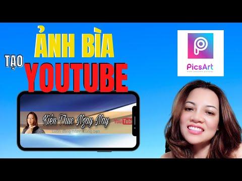 Cách Làm Ảnh Bìa Kênh Youtube Trên Điện Thoại Siêu Dễ l Dành cho người mới