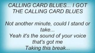 Watch Pat Travers Calling Card Blues video