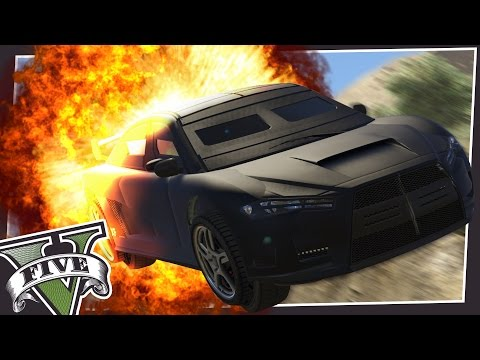ARMOURED SUPERCARS IN GTA 5!
