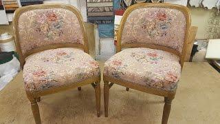 Обивка стульев с гнутой спинкой!(, 2017-01-10T14:59:08.000Z)