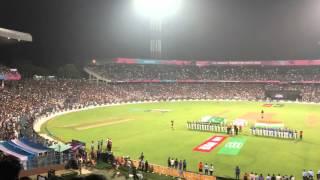 National Anthem - Jana Gana Mana - Amitabh Bachchan - Eden Gardens - India vs Pakistan