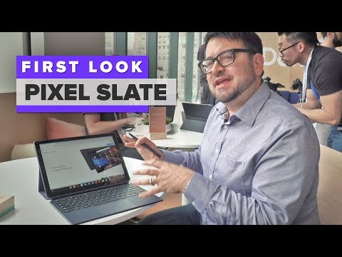 Google Pixel Slate tablet hands-on