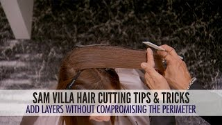 How To Add Layers To Hair Without Compromising The Perimeter