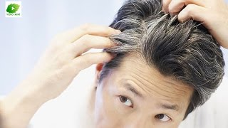 Natural Home Remedies For Grey Hair | Best Health Tips | Educational Videos