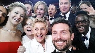 Oscars 2014 Ellen Degeneres Breaks Twitter Plus Best Moments