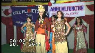 Yashika Dance- Kidz Planet School, Chhotisadri.mpg
