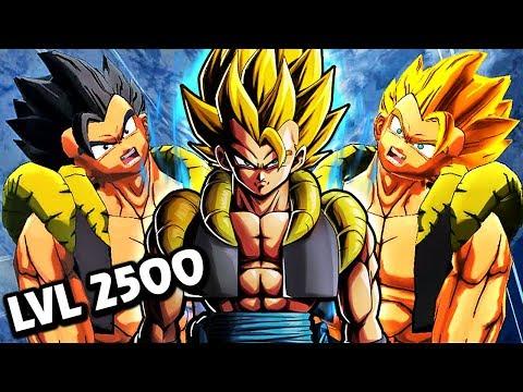 LEVEL 2500 SSJ GOGETA BOSS IN LEGENDS! Dragon Ball Legends Transforming SSJ Gogeta Gameplay