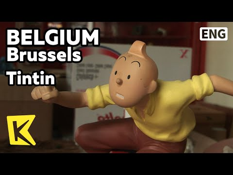 【K】Belgium Travel-Brussels[벨기에 여행-브뤼셀]벨기에 만화 캐릭터, 땡떙/Tintin/Cartoon/Character/Georges Remi