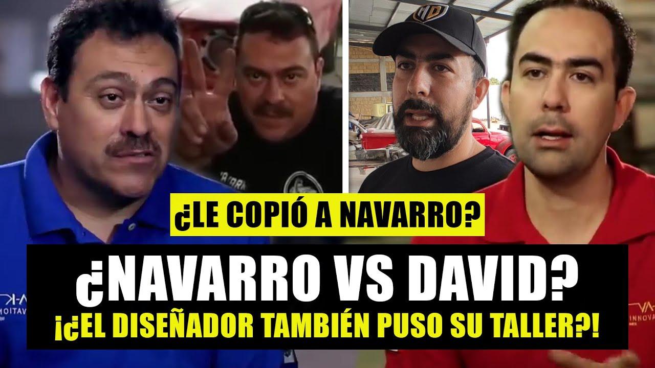 Navarro ahora tiene COMPETENCIA del diseñador de Mexicánicos   ¿David VS Navarro y Martín Vaca?