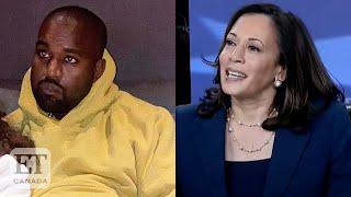 Kanye West Reacts To Kamala Harris' VP Nomination