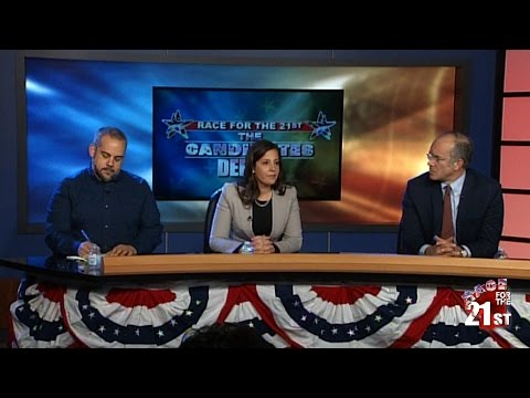 21st Congressional District Candidates Debate in Watertown