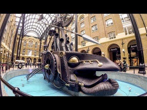 The Surreal Hay's Galleria, London. Walk Around